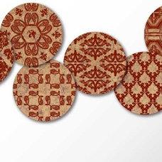 Contemporary Coasters by corkologie.com