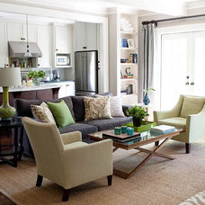 Green Living Room Decorating Ideas