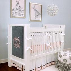 Doodlefish - Innocence 3-Piece Crib Bedding Set - Innocence 3-Piece Crib Bedding Set