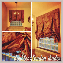 Custom Drapery - Double London Shade by Styles in Textiles