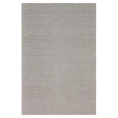 nuLOOM - nuLOOM Hand Loomed Chalet Diamond Cotton Rug, Grey, (5' X 8') - Material: 100% Cotton