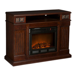 Clifton Media Electric Fireplace, Espresso