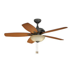 "Vaxcel - Valencia 52"" Ceiling Fan - Vaxcel FN52998OR Valencia Oil Rubbed Bronze 52"" Ceiling Fan"