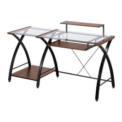 Z-Line Designs - Brisa Desk - This is a beautiful piece of top-quality furniture that's perfect for your Man Cave, Game Room, Office or anywhere you would like to decorate and show your personal style.