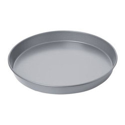 Focus Products - Deep Dish Pizza Pan - Chicago Metallic Commercial II Non-Stick Deep Dish Pizza Pan. Great pizza begins with the pan-because if your tools can't deliver your recipe will just never turn out right. This non-stick pan features a wire rod rim to keep your pan in shape for years and its heavy-weight aluminized steel is designed for superior heat conduction and even baking.