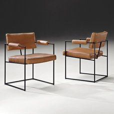 midcentury dining chairs by Thayer Coggin