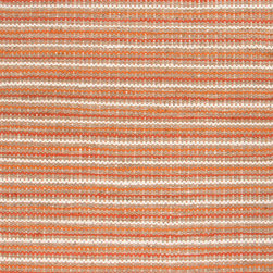 Jaipur Rugs - Naturals Stripe Pattern Cotton/ Jute Orange/Ivory Area Rug ( 3.6x5.6 ) - The Andes collection is hand-woven with jute and recycled Chindi cotton fabric for touches of both color and a softer feel. Eco friendly and durable, these rugs fit in a variety of homes.