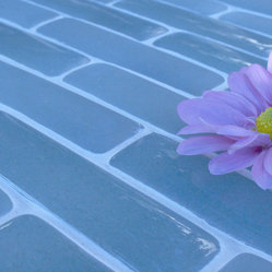 Fireclay Tile's Newest 'Crush' - Locally Made 100% Recycled Glass Tile