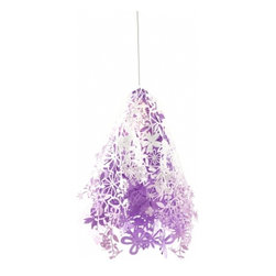 Midsummer Light - The Midsummer pendant light comes in a lot of colors: white, purple, fuchsia, orange, etc. It is one of my favorite whimsical light fixtures for a child's room. And it is affordable too!