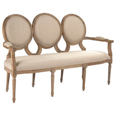 Traditional Love Seats by Zentique