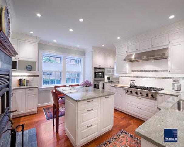 Traditional Kitchen by Feinmann, Inc.