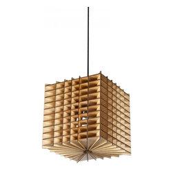 ParrotUncle - Check Style Wooden Lantern Pendant Lighting - Check Style Wooden Lantern Pendant Lighting