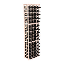 Wine Racks America - 4 Column Magnum/Champagne Wine Kit, White Wash - A special rack with large bin openings for proper preservation of 60 1.5L wine bottles. Integrates with other instaCellar racking easily. Our magnum style rack is designed for stability, beauty and longevity. You'll be impressed by this rack or get your money back. Guaranteed.