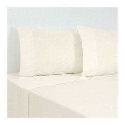 SCALA - 1000Tc Solid Ivory King Size Sheet Set - We offer supreme quality Egyptian Cotton bed linens with exclusive Italian Finishing. These soft, smooth and silky high quality and durable bed linens come to you at a very low price as these come directly from the manufacturer. We offer Italian finish on Egyptian cotton, which makes this product truly exclusive, and owner's pride. It's an experience and without it you are truly missing the luxury and comfort!!