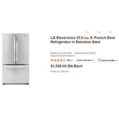 traditional refrigerators and freezers Gobles Home