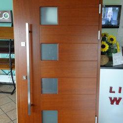 Modern Exterior Door Model 000 - Modern Home Luxury