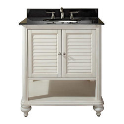 Avanity - TROPICA Vanity Only - 30in. Antique White - TROPICA Vanity Only - 30 in.  Antique White