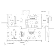Traditional Floor Plan by Brian Patterson Designs, Inc.
