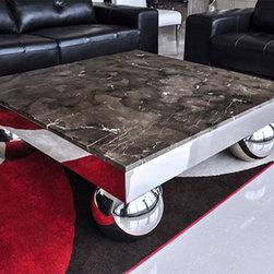 Modern Marble Coffee Table - Lombardia -