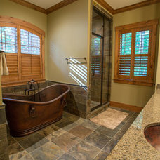 Craftsman Bathroom by Collins Building Group