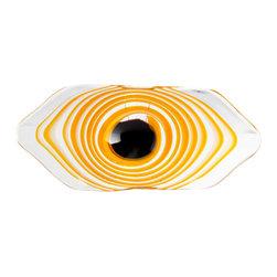 "Joshua Marshal - Decorative Orange 18"" Cinzia Bowl - Decorative Orange 18"" Cinzia Bowl"