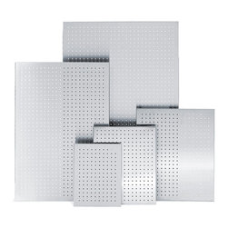"""Blomus - Muro Magnet Boards Perforated - 29.5"""" x 45.3"""" - Off the grid: Everything that has no particular allegiance to hall table activities, desktop business or file drawer organization can sensibly take up residence here. This perforated magnetic message board can house any number of your random items and give them a place of interest."""