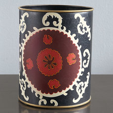 Eclectic Wastebaskets by Wisteria