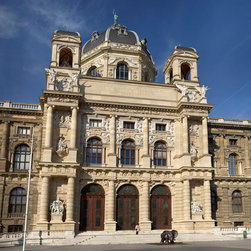 Murals Your Way - Art History Museum-Vienna, Austria Wall Art - The Kunsthistorisches Museum in Vienna was built to display art to the public and is toped with an octagonal dome 60 meters high