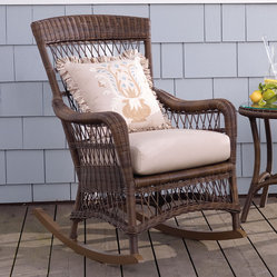 Providence Rocking Chair with Cushion - Frontgate, Patio Furniture
