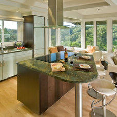 contemporary kitchen by Archipelago Hawaii Luxury Home Designs