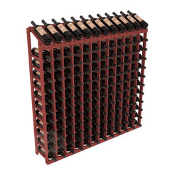Wine Racks America® - 144 Bottle Display Top Wine Rack in Pine, Cherry Stain - Present 12 of your best bottles label up for easy appreciation. Display top wine racks are perfect for commercial or residential environments as they match our modular rack specifications. Engineered to be rock solid, we guarantee it will last. Designed to be elegant, you'll love these racks. We guarantee it.