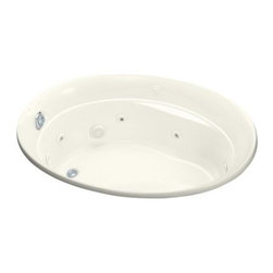 KOHLER - KOHLER K-1337-96 Serif Whirlpool - KOHLER K-1337-96 Serif Whirlpool in Biscuit