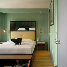 Contemporary Bedroom by Architecture in Formation, P.C.