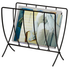contemporary magazine racks by Walmart