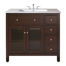 Avanity Lexington Bathroom Vanity 36 x 21 x 34 - Manufacturer