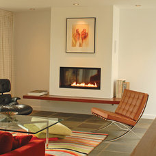 contemporary fireplaces by Spark Modern Fires