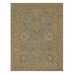 Loloi Rugs - Loloi Rugs Maple Collection - Mist / Taupe, 8' x 11' - Transform your home into a manor steeped in elegance and tradition with the majestic Maple Collection. These timeless Persian designs carry the rich heritage of centuries of carpet making in each arabesque, stylized flower and intricate border. Maple Collection rugs are hand-tufted in India of 100-percent wool so they are eco-friendly and mindfully crafted with sustainable materials. With colors as rich as these, you will feel like nobility every time you walk into your home.