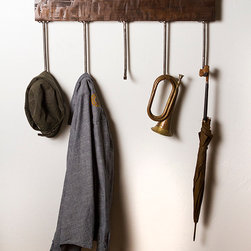 Home and Office Decor - Rustic, strong, and heavy duty this is one coat hanger that will set you apart.