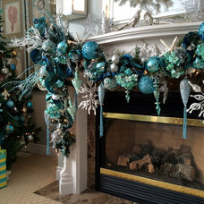 Holiday Decorations by KAREN HNATYSHIN INTERIORS