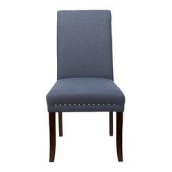 Jennifer Taylor Home - Newport Dining Chair, Grey - Jennifer Taylor Home
