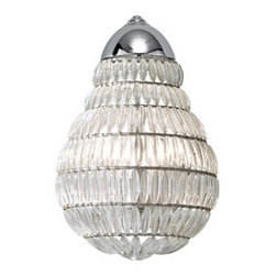 Murray Feiss - Murray Feiss WB1600 Wattson 1 Light Reversible Flush Mount Wall Sconce - Features: