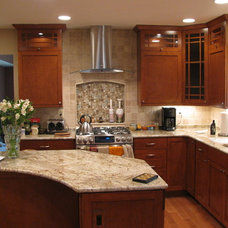 Contemporary Kitchen Hoods And Vents by Revisions Remodeling Showroom