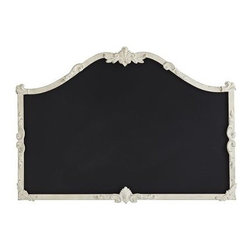 Vintage Chic Chalkboard - I have visions of a large chalkboard on which I put up the week's meals every Sunday. Pipe dream? Perhaps. But I think this one would still be useful even if the menu never happens.