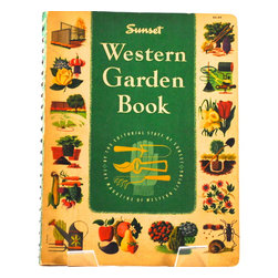 Adonis Collection | Gardening Books - Enhance your decor with vintage books from our curated library, which we select for charm, character and gravitas. Mid-century American works for elegance everyday and sustainable living. Help the planet and reuse a beautiful, collectible piece, from an era when craftsmanship was durable and well-made. You will feel the difference by the touch and weight of it in your hand.