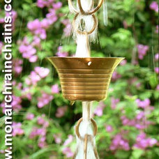 Modern Outdoor Fountains by Monarch Rain Chains