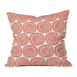 DENY Designs - Khristian A Howell Vienna Swirls Throw Pillow - Wanna transform a serious room into a fun, inviting space? Looking to complete a room full of solids with a unique print? Need to add a pop of color to your dull, lackluster space? Accomplish all of the above with one simple, yet powerful home accessory we like to call the DENY throw pillow collection! Custom printed in the USA for every order.