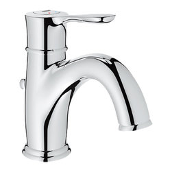 Grohe - Grohe 23305-000 Parkfield Series Single-Lever Bath Faucet - The Parkfield Series Single-Lever Bath Faucet (23305) Features Grohe'S Watercare Technology, Giving It A 1.5 Gpm Flow Rate, And Its Single-Hole Installation Allows You To Mount It In A Matter Of Minutes. Its Metal Lever Handle Allows For Precise Volume And Temperature Control, And It Comes With Grohe'S Silkmove Ceramic Cartridge For Long-Lasting Drip-Free Performance. It Also Features A Starlight Chrome Finish, Solid Brass Construction, A pop-up Waste Set, And Flexible Hose Connections.