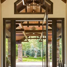 Contemporary Front Doors by Grabill Windows & Doors