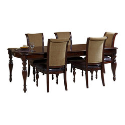 Liberty Furniture Kingston Plantation 108x40 Rectangular Dining Table in Cognac,