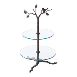 Iron Tree Stand for Cupcakes, 2-Tier